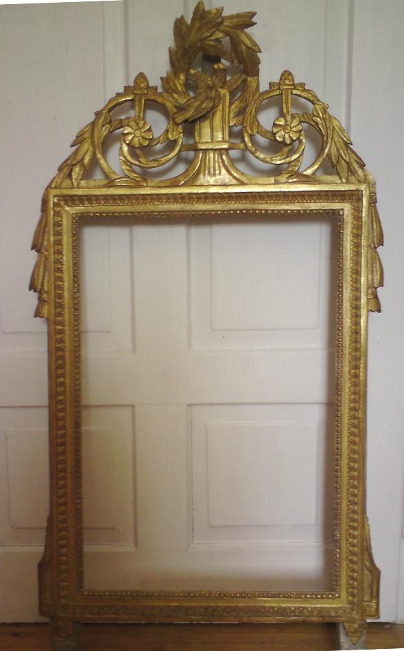 Spiegelrahmen nach der Restaurierung